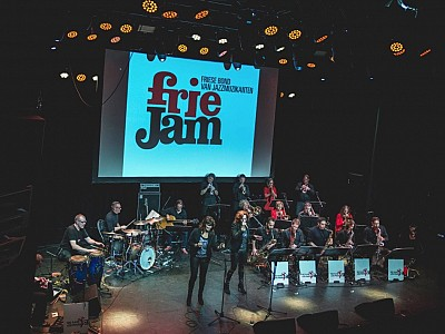 Optreden Friejam jazzfestival